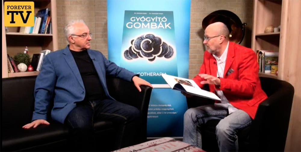 Dr. Taraczközi István, a Gyógyító gombák című kötet társszerzője ismerteti a könyvet
